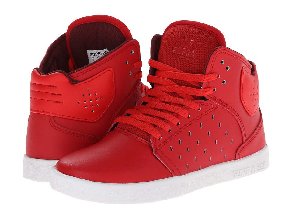 Supra Kids Atom Little Kid/Big Kid Red Boys Shoes