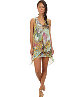 Ted Baker - Lemna Pretty Trees Drop Hem Cover Up