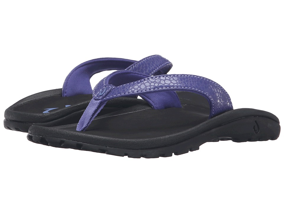 OluKai Kids Kulapa Kai Toddler/Little Kid/Big Kid Deep Violet/Black Girls Shoes