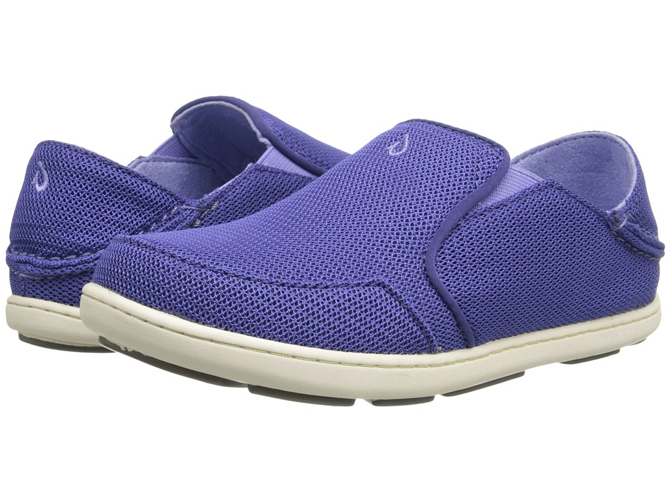 OluKai Kids Nohea Mesh Toddler/Little Kid/Big Kid Deep Violet/Lupine Girls Shoes
