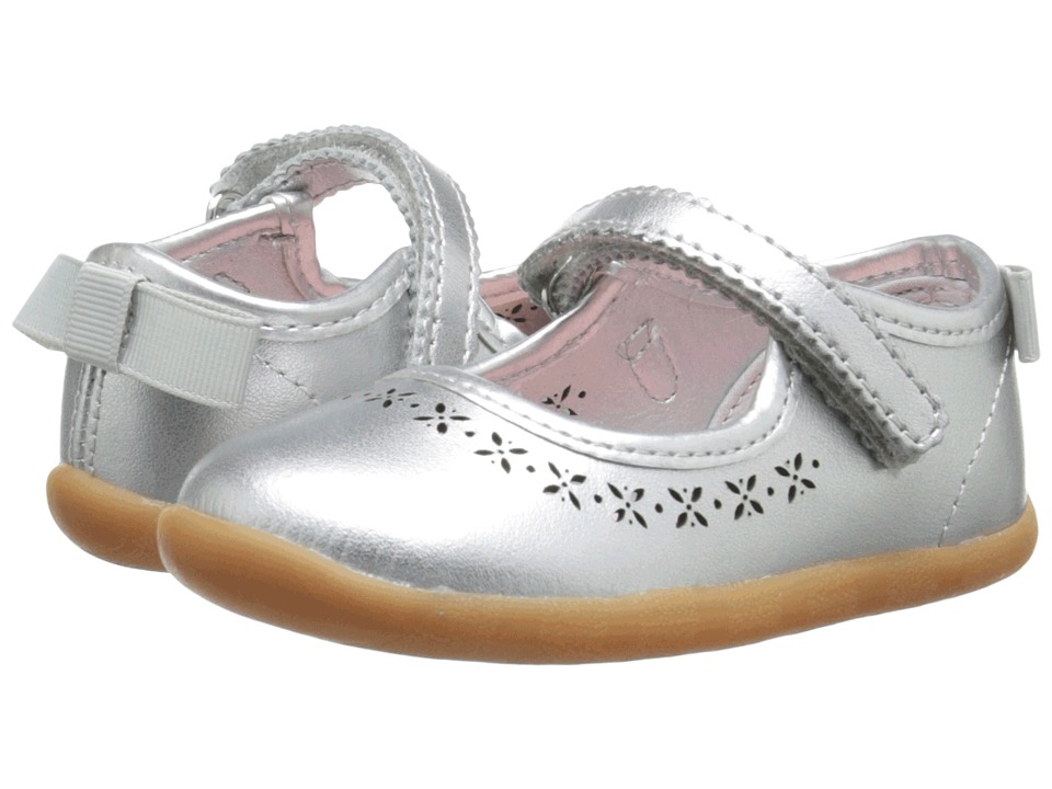 Hanna Andersson Jessika Infant/Toddler Silver Girls Shoes