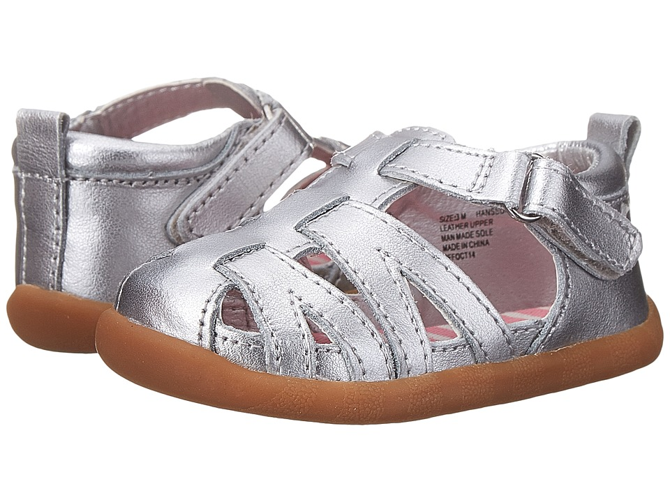 Hanna Andersson Hansson Infant/Toddler Silver Girls Shoes