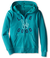 Life is good Kids - LIG Peace Hangout Hoodie (Little Kids/Big Kids)