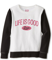 Life is good Kids - LIG Love Play-On Pullover (Little Kids/Big Kids)