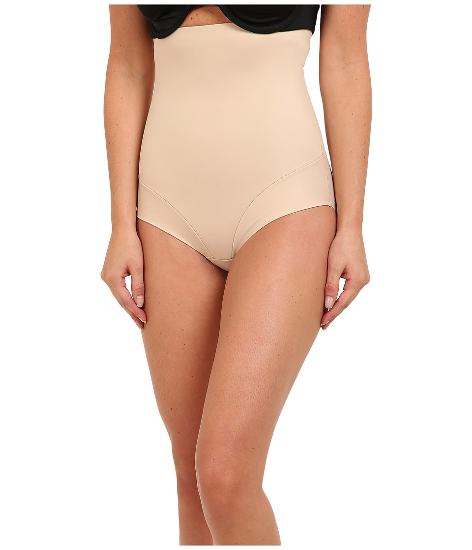 Miraclesuit Shapewear Extra Firm Comfort Leg Hi Waist Brief Nude Womens Underwear