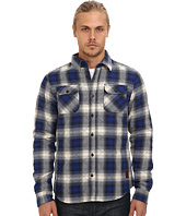 Scotch & Soda - Diamond Quilted Flannel Shirt Jacket