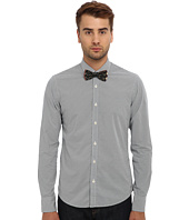 Scotch & Soda - Long Sleeve Printed Button Down Shirt with Bowtie