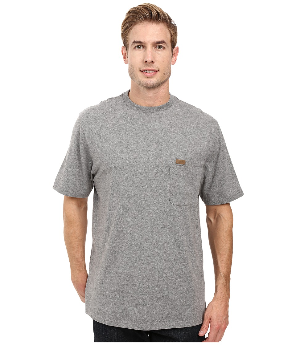 Pendleton S/S Deschutes Pocket Shirt (Grey Heather) Men
