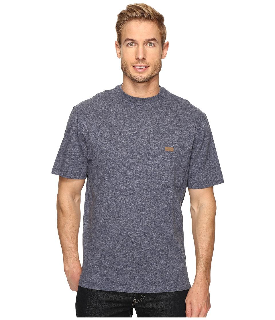 Pendleton S/S Deschutes Pocket Shirt (Denim Heather) Men