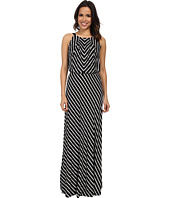 Marc New York by Andrew Marc - Halter Neck Blouson Maxi Dress MD4FM572
