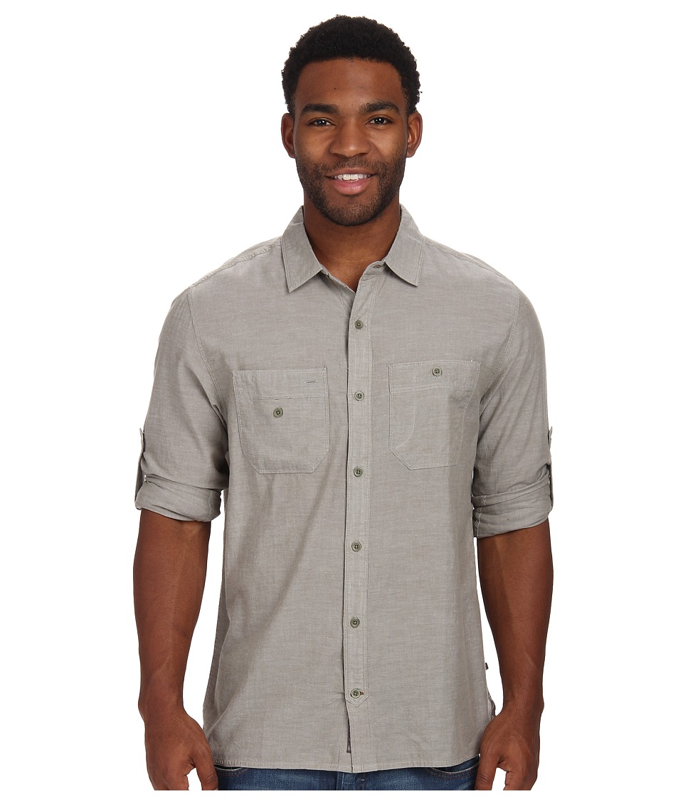 ToadampCo Honcho L/S Shirt Dusty Olive Mens Long Sleeve Button Up