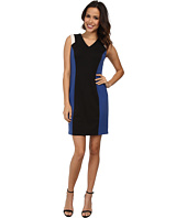 Marc New York by Andrew Marc - Sleeveless Color Block Sheath Dress