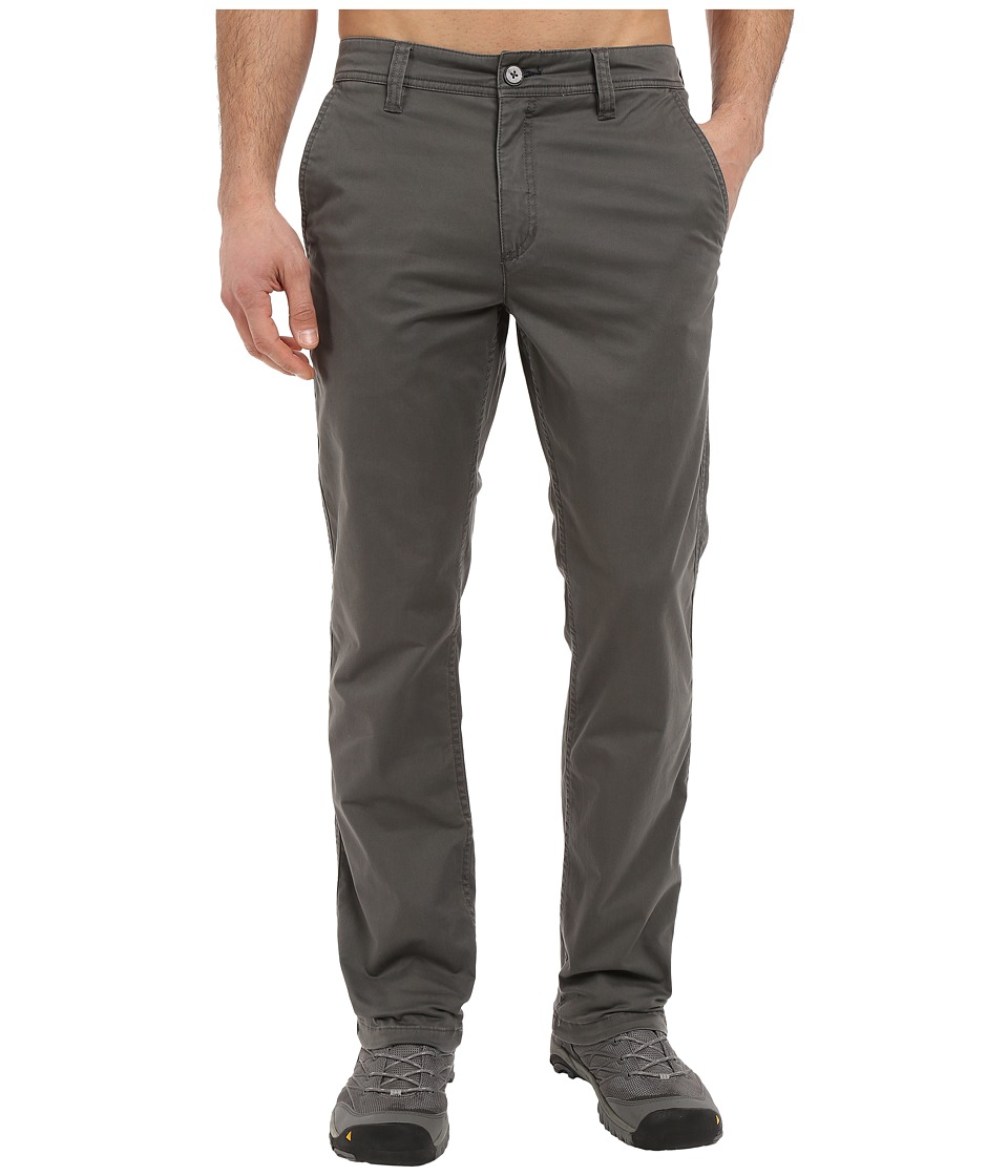 Toad&Co - Mission Ridge Pant (Dark Graphite) Mens Casual Pants