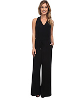 Marc New York by Andrew Marc - Halter Stretch Crepe Jumpsuit MD4AM229