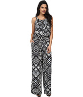 Marc New York by Andrew Marc - Halter Print Jumpsuit MD4AM602