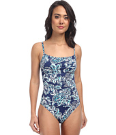 LAUREN by Ralph Lauren - Deauville Paisley Lingerie Mio Slimming Fit One-Piece