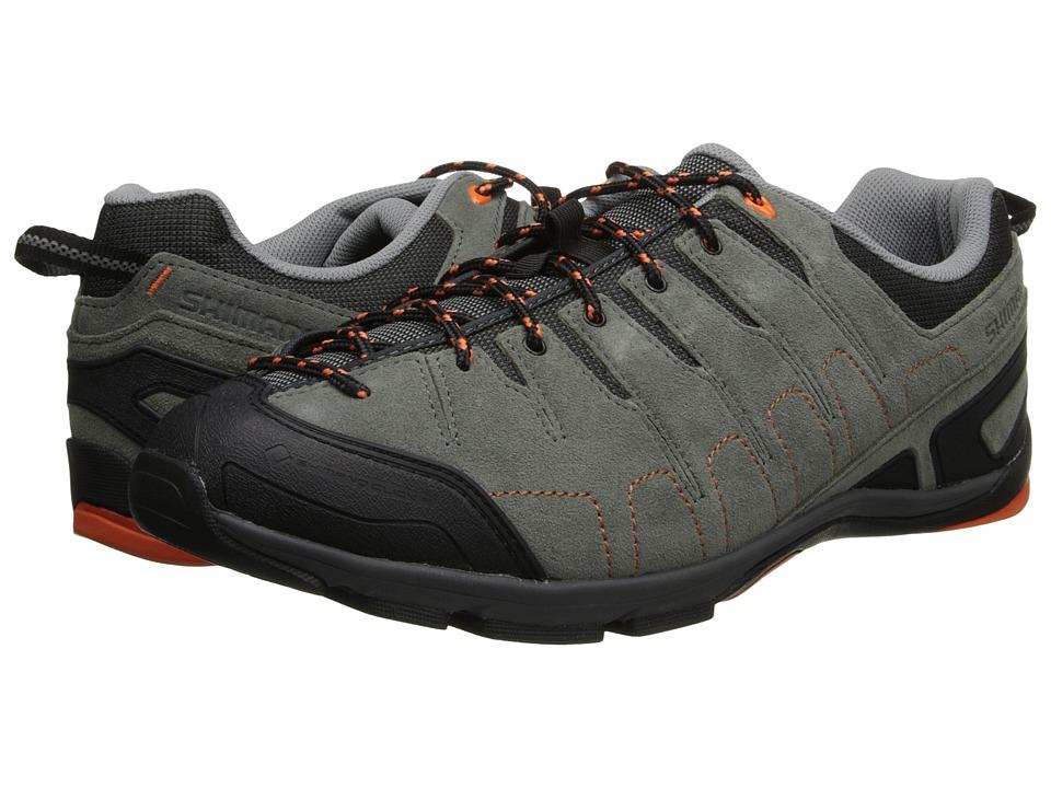 Shimano SH CT80 Grey/Orange Mens Cycling Shoes