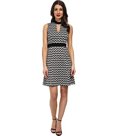 Karen Kane - Knit Chevron Dress