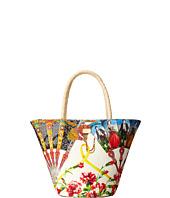 Dolce & Gabbana Kids - Ventagli Print Shopper