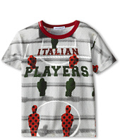 Dolce & Gabbana Kids - Italian Player Tee (Toddler/Little Kids)
