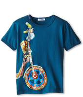 Dolce & Gabbana Kids - Motorcycle Wheel Tee (Toddler/Little Kids)