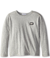 Dolce & Gabbana Kids - L/S Jersey Tee (Toddler/Little Kids)