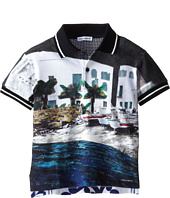 Dolce & Gabbana Kids - Beach Print Polo (Toddler/Little Kids)
