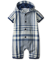 Dolce & Gabbana Kids - Plaid Hooded One-Piece (Infant)