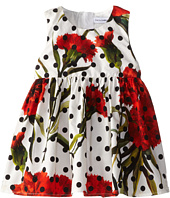 Dolce & Gabbana Kids - Poplin Two Piece Polka Dot Dress (Infant)