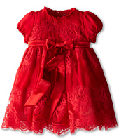 Dolce & Gabbana Kids - Cap Sleeve Empire Waist Lace Dress (Infant)