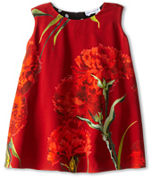 Dolce & Gabbana Kids - Rose Print Dress (Toddler/Little Kids)