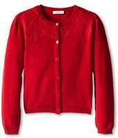 Dolce & Gabbana Kids - Lace Front Cardigan (Toddler/Little Kids)