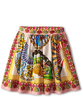 Dolce & Gabbana - Fan Print Skirt (Big Kids)