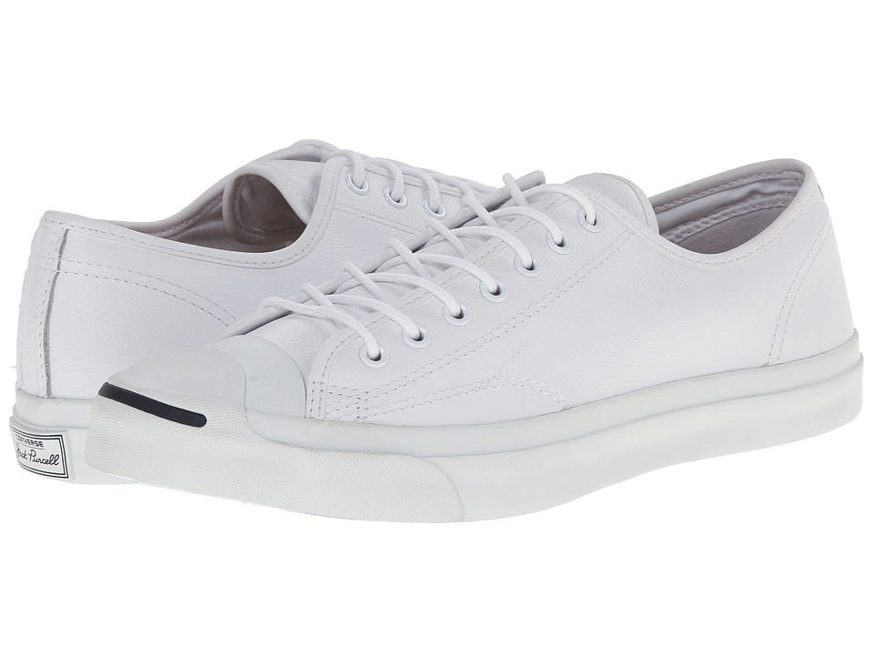 Converse Jack Purcell(r) Jack Ox Leather (White 1) Athlet...