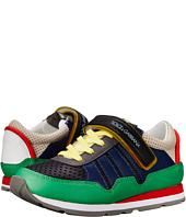 Dolce & Gabbana - Multicolor Hook/Loop Sneaker (Little Kid/Big Kid)