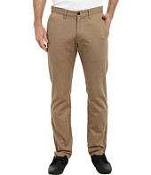 Dockers Men's - Game Day Alpha Khaki Slim Tape Red Flat Front Pant