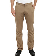 Dockers Men's - Game Day Alpha Khaki Slim Tape Red Flat Front Pant