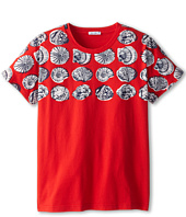 Dolce & Gabbana Kids - Shell Print Tee (Big Kids)
