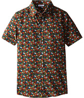 Dolce & Gabbana Kids - Printed S/S Button Up (Big Kids)