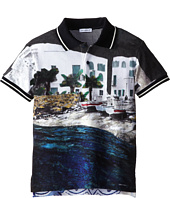 Dolce & Gabbana - Beach Print Polo (Big Kids)