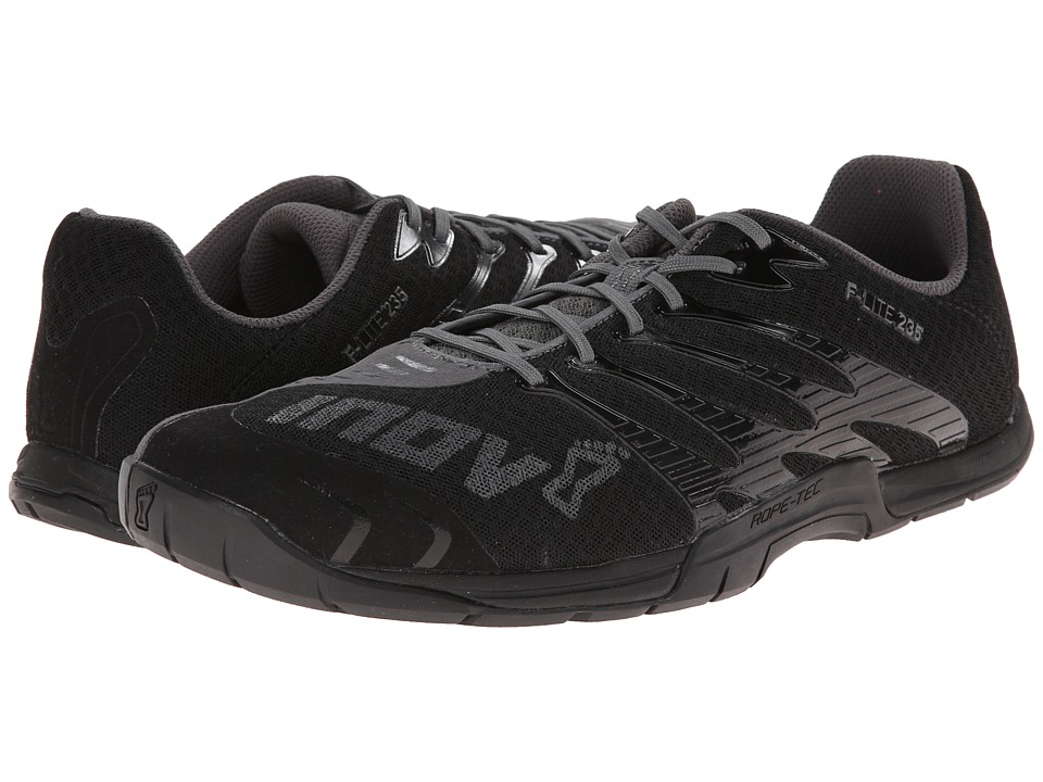 inov 8 F Lite 235 Black/Grey Mens Running Shoes