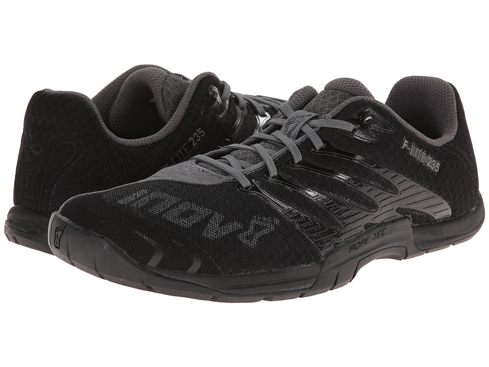 inov 8 F Lite 235 Black/Grey Womens Running Shoes