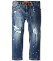 Dolce & Gabbana Kids - Five-Pocket Distressed Jean (Toddler/Little Kids)