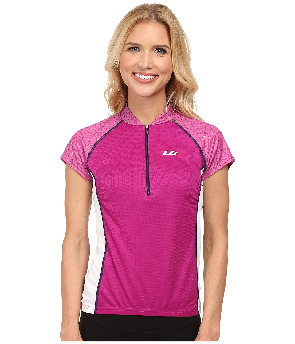 Louis Garneau Astoria 2 Jersey Peony Womens Workout