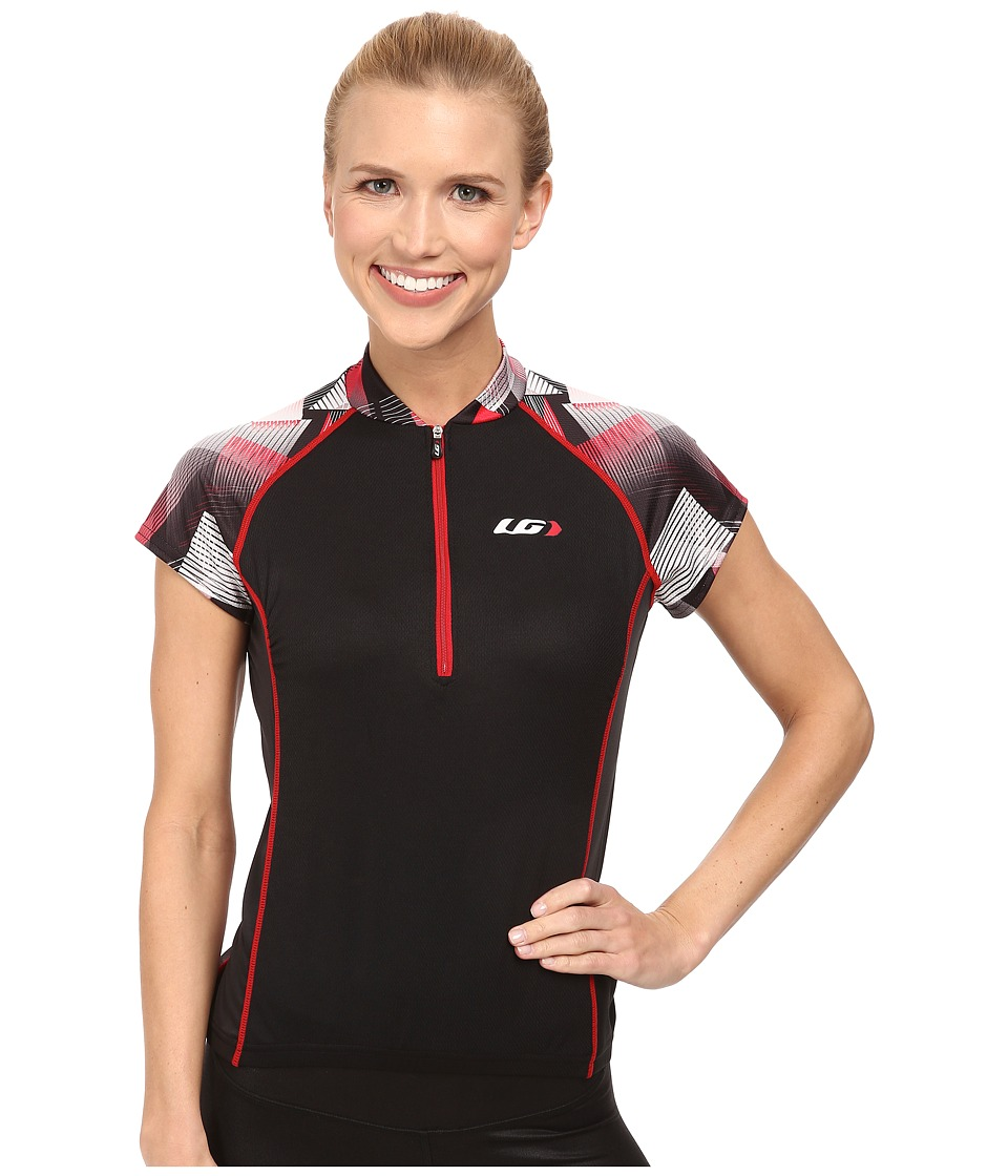 Louis Garneau Astoria 2 Jersey Black/Ginger Womens Workout