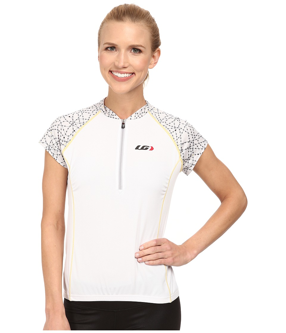 Louis Garneau Astoria 2 Jersey White Womens Workout