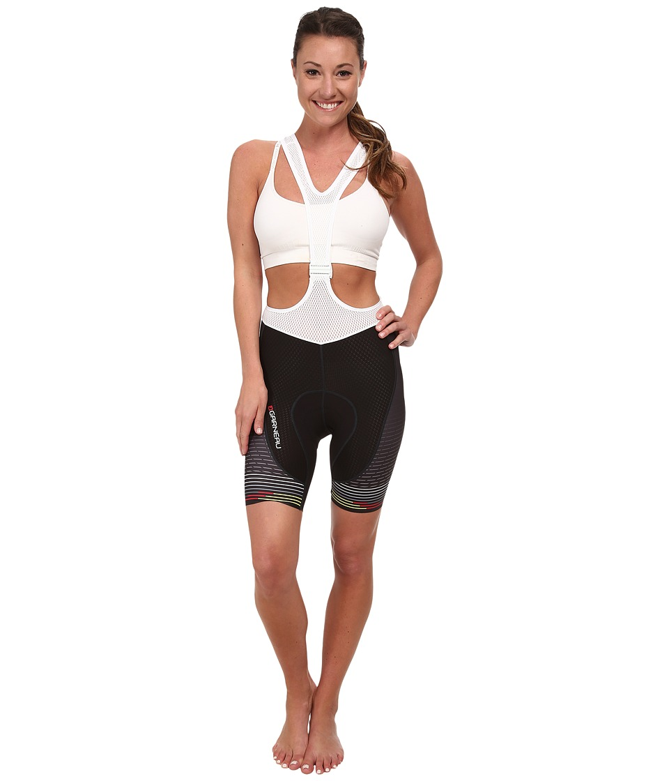Louis Garneau CB Carbon Lazer Bib Short Black/Color Womens Shorts