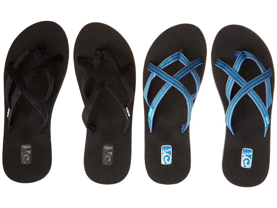 Teva Olowahu 2 Pack Mibob/Pintado Blue Womens Sandals