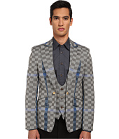 Vivienne Westwood - Basket Weave Check Waistcoat Jacket