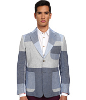 Vivienne Westwood - Oversize Check Linen Patch Jacket